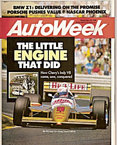 Auto Week magazine - November 14, 1988 (Image1)