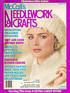 McCaLL'S Needlework and crafts -  October 1988 (Image1)