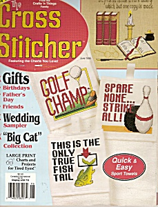 The Gross stitcher magazaine - June 1995 (Image1)