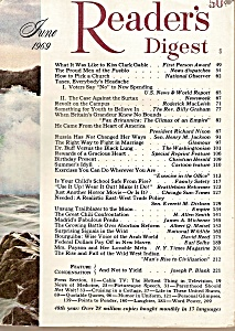 Readers Digest -    June 1969 (Image1)