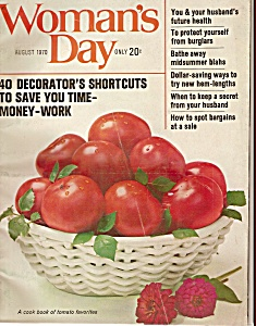 Woman's Day -  August 1970 (Image1)
