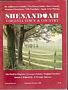 Virginia Town & Country Magazine- Sept.oct. 1982