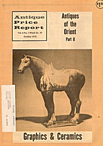 Antique price report -  October 1978 (Image1)