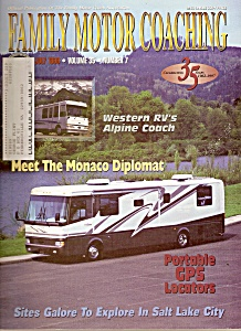 Family Motor Coaching magazine -  July 1998 (Image1)
