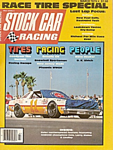 Stock Car racing magazine - March 1979 (Image1)