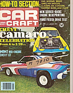 Car Craft magazine -  January  1978 (Image1)