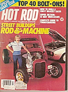 Hot  Rod magazine - December 1979 (Image1)