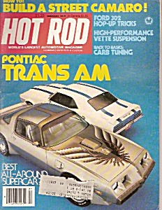 Hot Rod magazine - February 1979 (Image1)