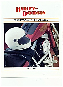 1986 Harley Davidson Accessory Plus CATALOG Fall (Image1)
