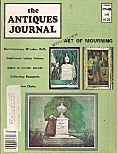 The antiques journal  - October 1977 (Image1)