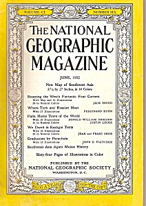 National Geographic - June 1952 (Image1)