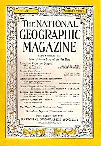 National Geographic magazine-   September 1952 (Image1)