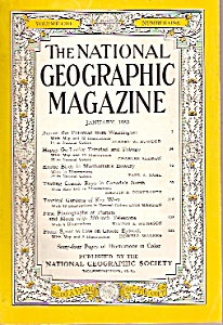 National Geographic magazine - January 1953 (Image1)