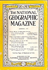 National Geographic magazine - January 1950 (Image1)