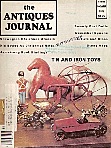 The Antiques Journal -  December 1977 (Image1)