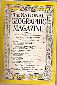 National Geographic magazine - June 1954 (Image1)