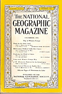 National Geographic magazine =-  December 1950 (Image1)