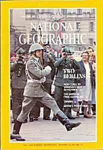 National  Geographic magazine- jANUARY  1982 (Image1)