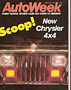 Autoweek - March 30, 1987