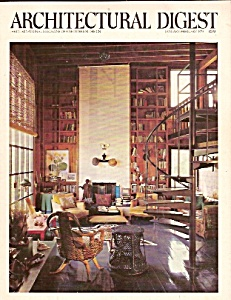 Architectural Digest -  January,February 1976 (Image1)
