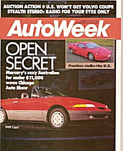 Autoweek Magazine - Feb. 29, 1968