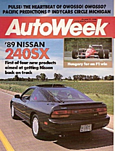 Auto Week Magazine - August 15, 1988 (Image1)