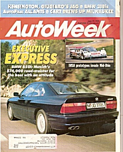 Auto Week magazine - June 11, 1990 (Image1)