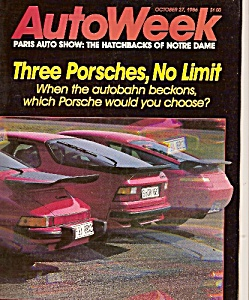 Auto Week magazine -  October 27, 1986 (Image1)