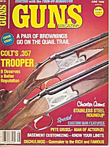 GUNS  Magazine -  June 1985 (Image1)