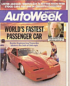 AutoWeek magazine -  September 21, 1987 (Image1)