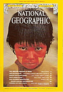 National Geographic magazine- October 1972 (Image1)