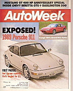 AutoWeek magazine -  April 4, 1988 (Image1)