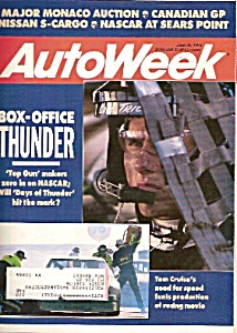 Autoweek Magazine - June 18, 1990