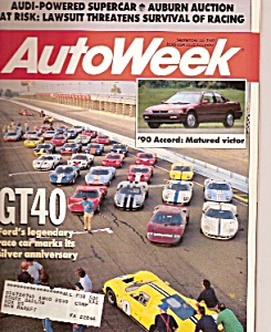AutoWeek magazine-  September 25, 1989 (Image1)