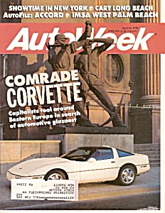 AutoWeek magazine -  April 30, 1990 (Image1)