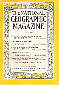 National Geographic magazine - May 1952 (Image1)