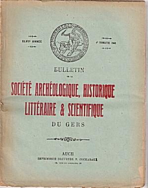 Societe archeologique, Historique - 4th trimestre 1946 (Image1)