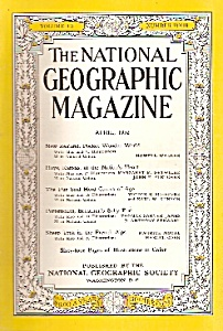 National Geographic magazine - April  1952 (Image1)
