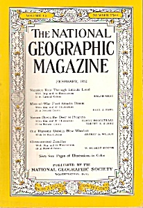 National Geographic Magazine - February 1952