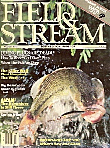 Field & Stream magazine-  March 1988 (Image1)