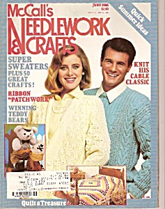 McCall's Needlework & crafts - June 1985 (Image1)