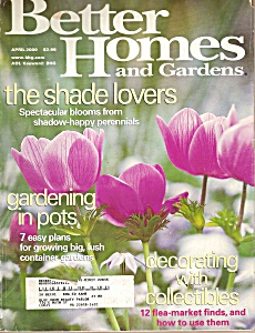 Better Homes and Gardens - April 2000 (Image1)