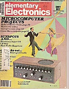 Elementary Electronics Magazine-  Jan./Feb .1 979 (Image1)