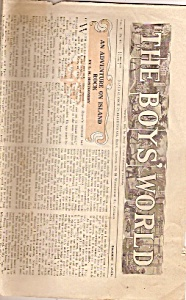 The Boys World newspaper -  Decermber 1, 1906 (Image1)