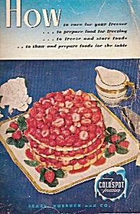 Home foodf freezing and storage -  copyright 1946 (Image1)