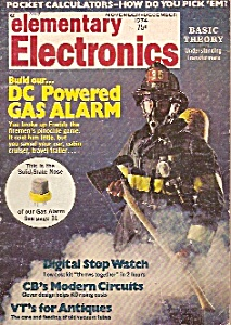 Elementary electronics - Nov. - Dec. 1974 (Image1)