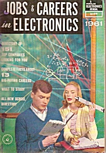 jOBS & Careers in ELECTRONICS - 1961 (Image1)
