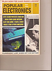 Popular Electronics -  July 1965 (Image1)