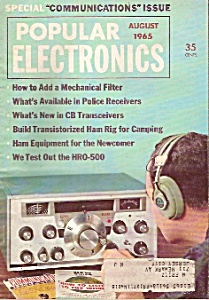 Popular electronics -  August 1965 (Image1)