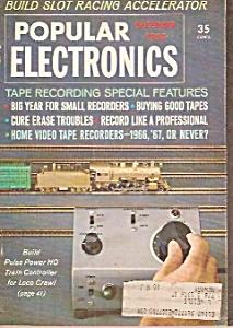 Popular Electronics -  December 1965 (Image1)